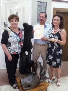 Premiazione Olio Extravergine d'oliva Sassi Bianchi - Olivo della Strega 2013