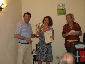 Premiazione Olio Extravergine d'oliva Sassi Bianchi Olivo della Strega 2014